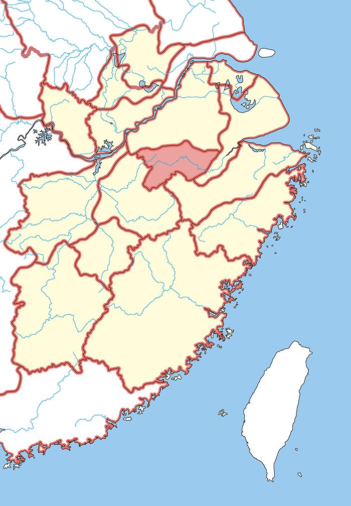 新都郡(しんとぐん)の場所