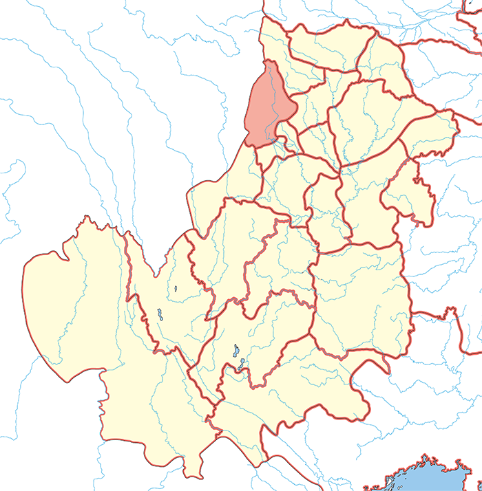 汶山郡(ぶんざんぐん)の場所