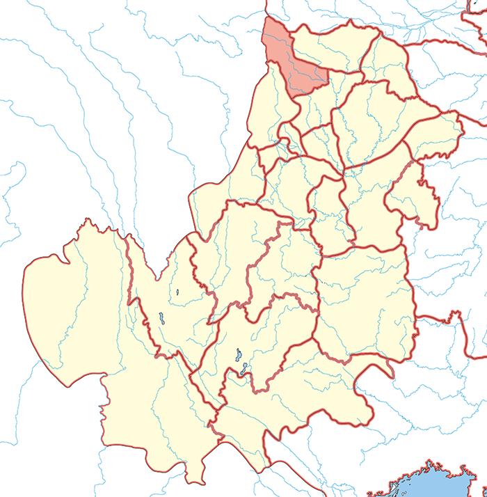 陰平郡(いんぺいぐん)の場所
