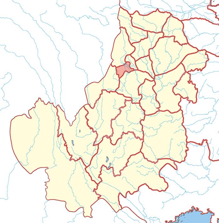 蜀郡(しょくぐん)の場所