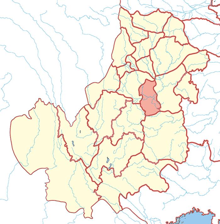 江陽郡(こうようぐん)の場所