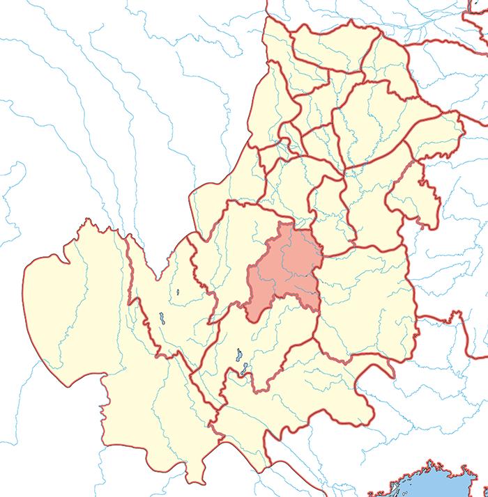 朱提郡(しゅていぐん)の場所