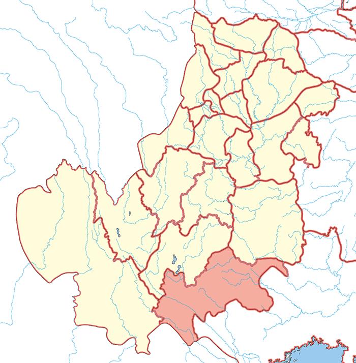 興古郡(こうこぐん)の場所