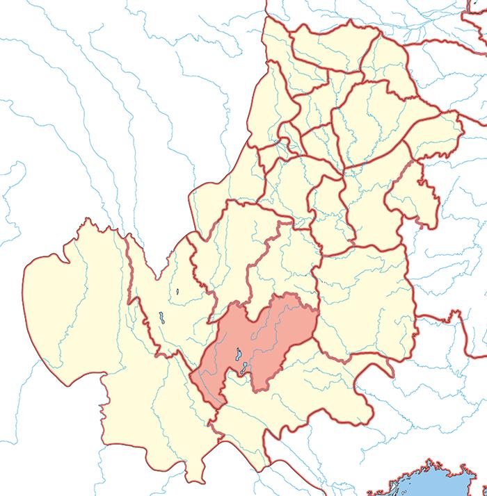 建寧郡(けんねいぐん)の場所