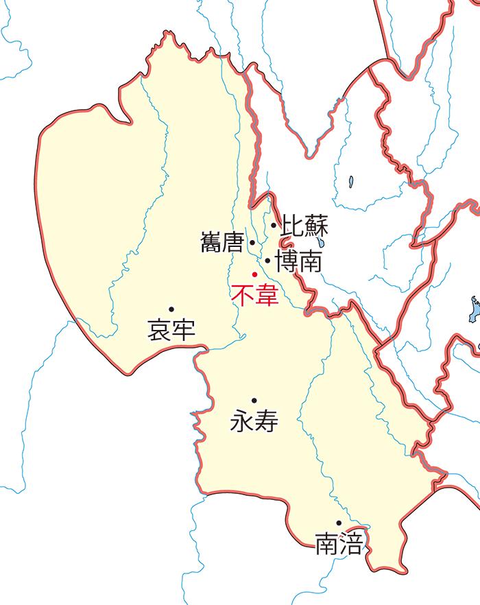 永昌郡(えいしょうぐん)の領城