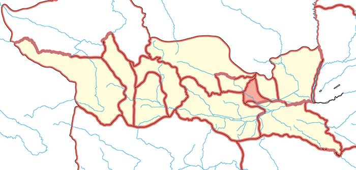 撫夷護軍(ぶいごぐん)の場所