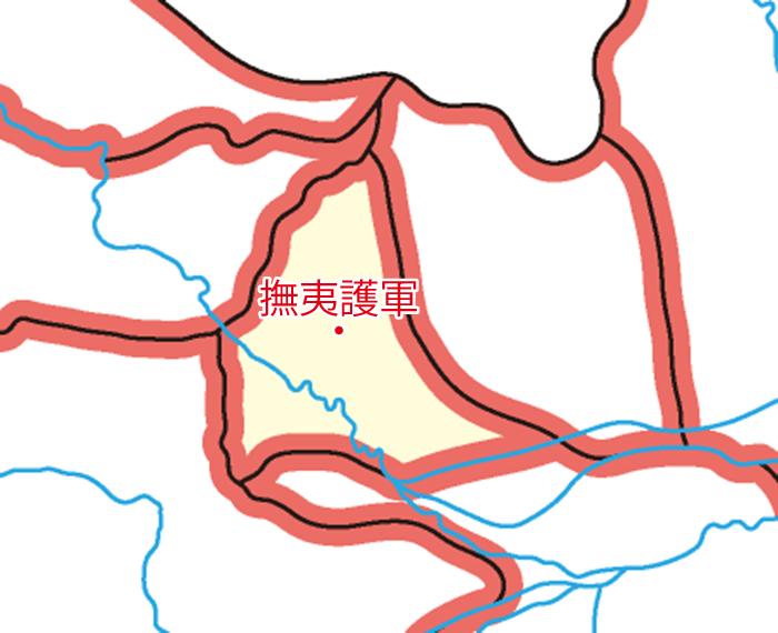 撫夷護軍(ぶいごぐん)の領城