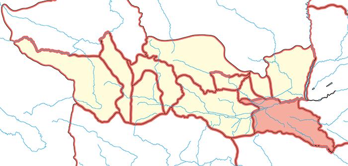 京兆郡(けいちょうぐん)の場所
