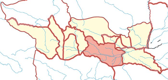 馮翊郡(ふふうぐん)の場所