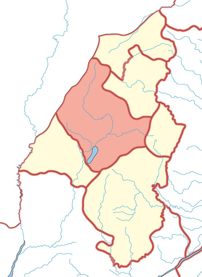 太原郡(たいげんぐん)の場所