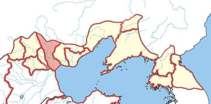 漁陽郡(ぎょようぐん)の場所