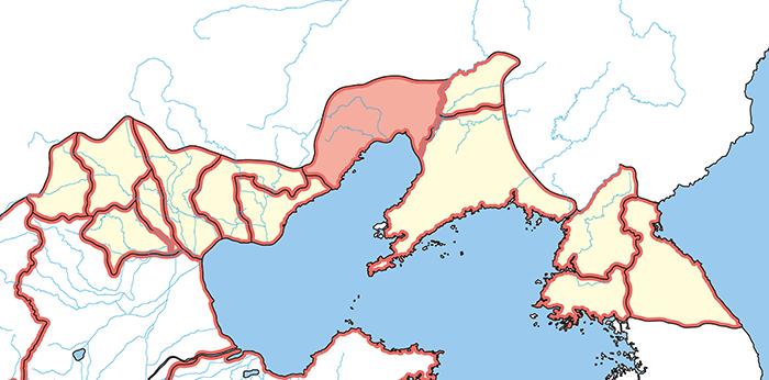 昌黎郡(しょうれいぐん)の場所