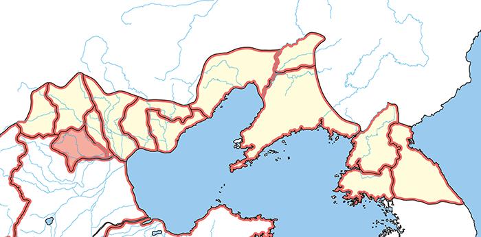 范陽郡(はんようぐん)の場所