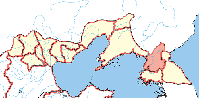 楽浪郡(らくろうぐん)の場所