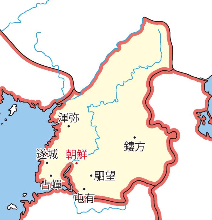 楽浪郡(らくろうぐん)の領城