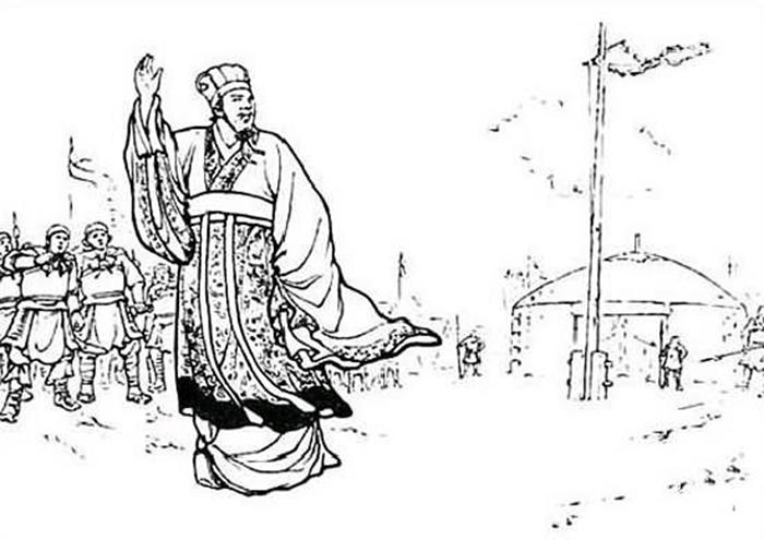 和睦の使者・皇甫酈