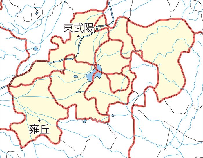 雍丘県(ようきゅうけん)
