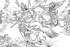 【056】小覇王・孫策の誕生。孫策と太史慈の一騎打ち