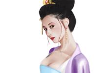 何氏(霊思何皇后)。卑賤の身から皇太后にまで昇りつめた霊帝の皇后