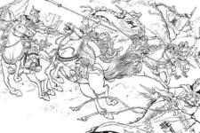【058】孫策が厳白虎と王朗を破り、江東を平定する